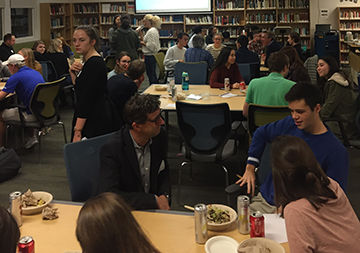 UPrep Holds its First LaunchPad Networking Night
