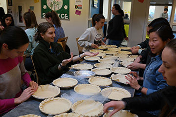 UPrep Bakes 232 Pies!