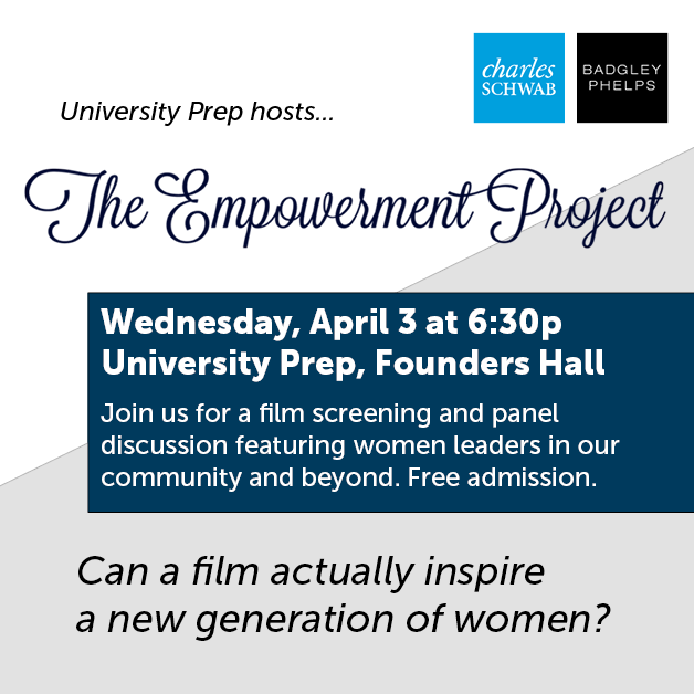 The Empowerment Project at UPrep, April 3
