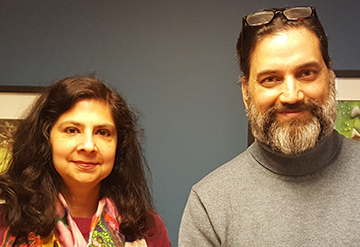 Figuring History at #WeAreUPrep!  A Conversation with Raj Bhat and Mandira Virmani